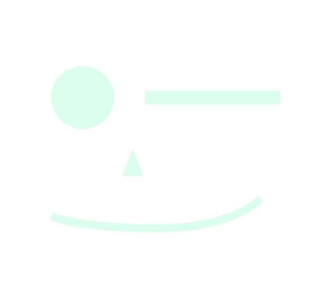 Simple Form als Gesicht